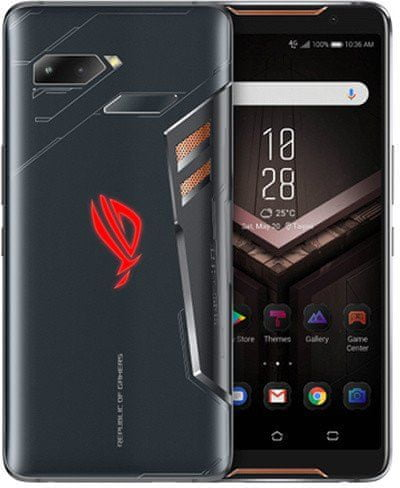 Asus ROG Phone, 8GB/128GB, Black