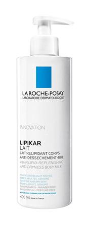 La Roche - Posay Relipidační tělové mléko pro suchou pokožku 48H Lipikar Lait (Anti Dryness Body Milk) (Objem 400 ml)