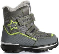 D-D-step zimowe buty chłopięce z gwiazdą