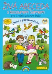 Andrýsková Lenka: Živá abeceda s kocourem Samem – učebnice, Čtení s porozuměním
