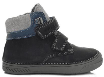 D-D-step chlapčenské členkové topánky 31 modrá  b9545c6ec2