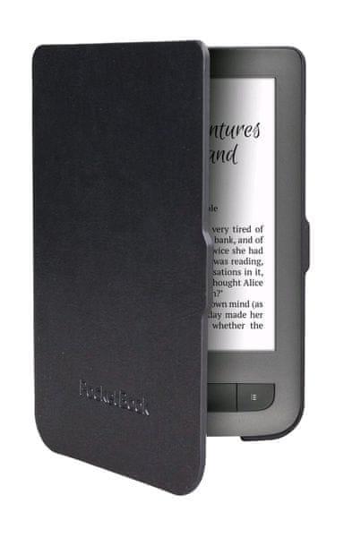 PocketBook pouzdro pro 614/623/624/626, skořepinové, černé