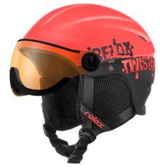 Relax Twister Visor RH 27D/XS Neon Červená Černá XS (51-54 cm)