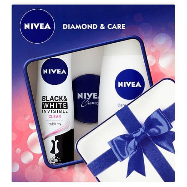 Nivea Dárková sada Diamond & Care