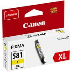 Canon kaseta CLI-581 XL Y, žuta