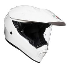 AGV off-road/on-road moto přilba  AX9 bílá