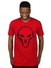 Tričko Overwatch - Reaper Spray (americká vel. M/evropská L)