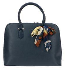 David Jones Dámská elegantní kabelka Dark Blue CM4045