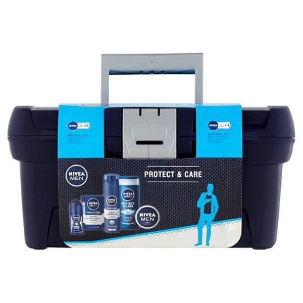 Nivea Kosmetická sada pro muže v kufříku Protect & Care