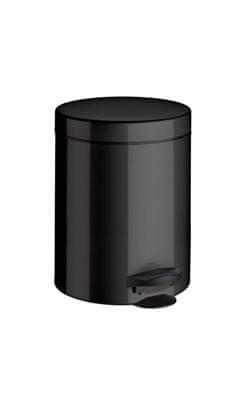 Meliconi Koš na odpadky 5 l PEDAL BIN černá