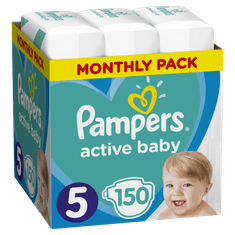 Pampers pelene Active Baby 5 Junior, 150 kom