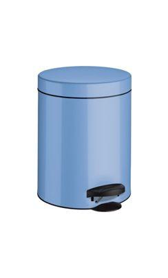 Meliconi Koš na odpadky 5 l PEDAL BIN světle modrá
