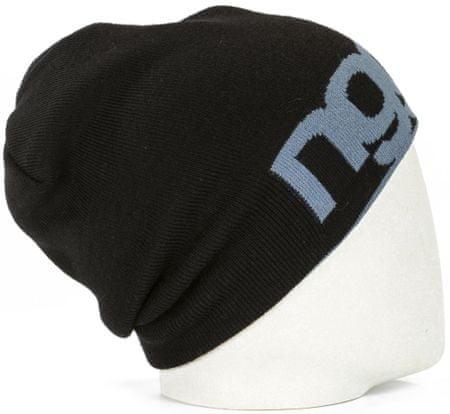 Nugget unisex černá čepice Logo 4 Reversible Beanie