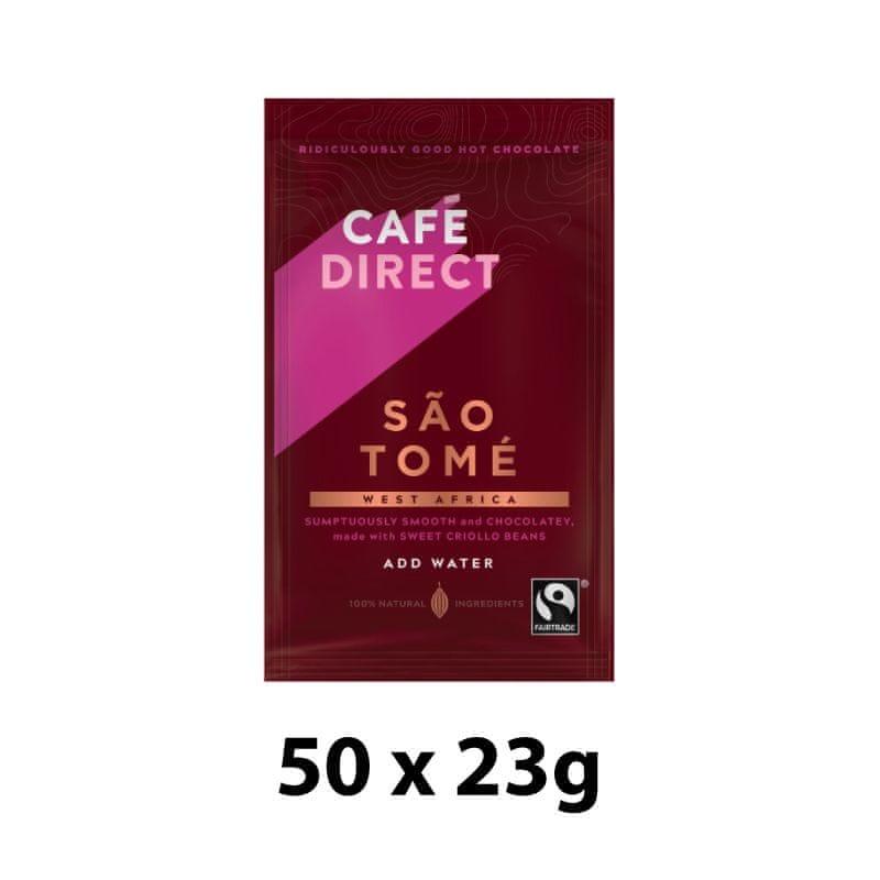 Cafédirect Horká čokoláda Sao Tomé 50 x 23g