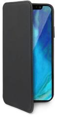 CELLY Pouzdro typu kniha Prestige pro Apple iPhone XS Max, PU kůže, černé PRESTIGE999BK