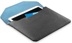 """CellularLine Pouzdro z umělé kůže Travel pro tablety do 10,5"""", černo-modré TRAVELTAB105K"""