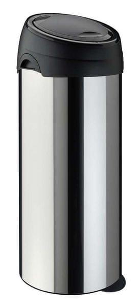 Meliconi Koš na odpadky SOFT-TOUCH 40 LTR INOX nerez