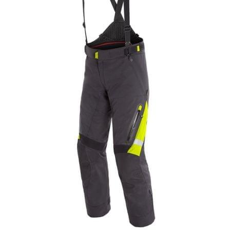 Dainese pánské kalhoty GRAN TURISMO GORE-TEX vel.54 černá/fluo žlutá, textilní