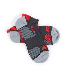 Dainese ponožky (kotníčkové)  D-CORE černá/červená (pár)
