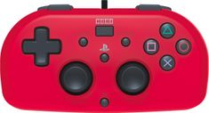 HORI PS4 HoriPad Mini, červený