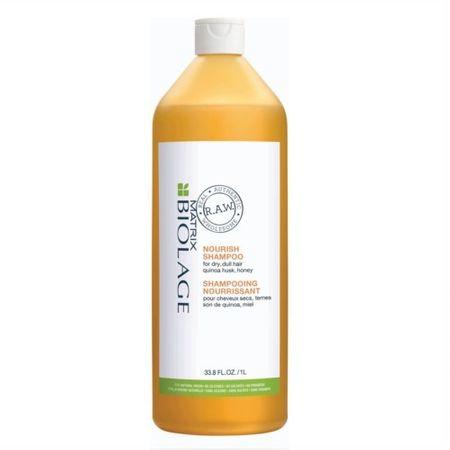 Matrix Odżywczy szampon do włosów suchych i grubych Biolage RAW (Nourish Shampoo) (objętość 1000 ml)