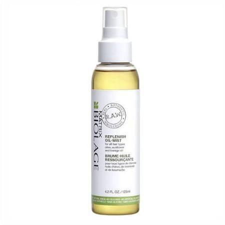 Matrix Hydratační a vyživující olej na vlasy Biolage RAW Replenish (Oil-Mist) 125 ml