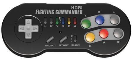 HORI Fighting Commander pro Nintendo Classic Mini: SNES