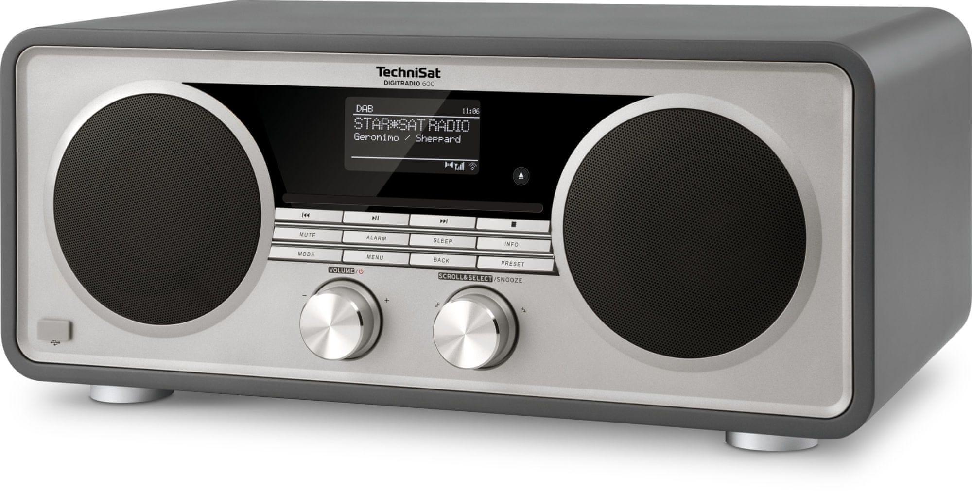 radiopřijímač TechniSat Digitradio 600 Cd bluetooth usb