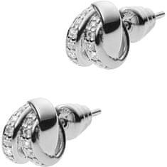 Emporio Armani Stříbrné náušnice s krystaly EG3316040 stříbro 925/1000