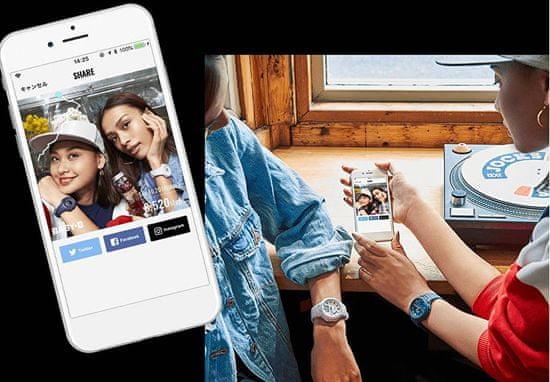 Casio BABY-G Step Tracker Bluetooth BSA B100-2A (620)