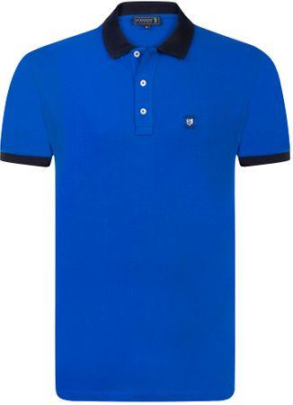 Sir Raymond Tailor moška polo majica Scotscraig s kratkim rokavom, M, modra