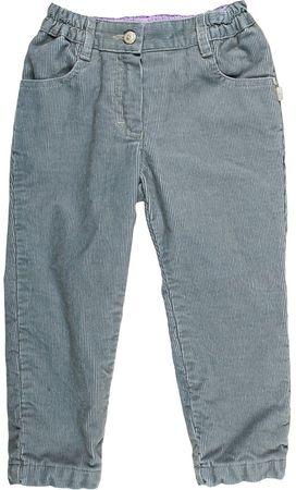 MMDadak chlapecké manšestrové kalhoty 80 šedá  d719b88540