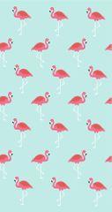 ręcznik plażowy JULES CLARYSSE NV Tańczące Flamingi