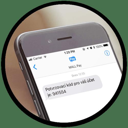 4497c4c22f4 Potvrďte způsob platby pomocí SMS kódu zaslaného na vaše číslo.