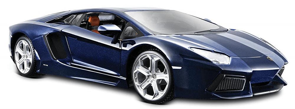 Maisto Lamborghini Aventador modré 1:24