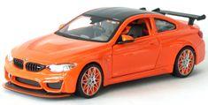 Maisto model samochodu BMW M4 GTS 1:24, pomarańczowy
