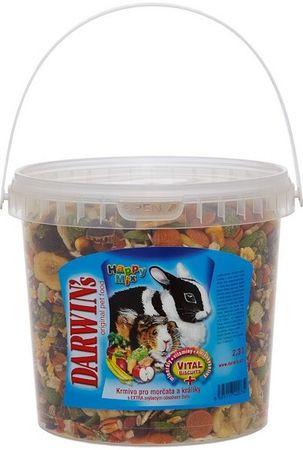Darwin's Morče a králík happy mix 2,3l