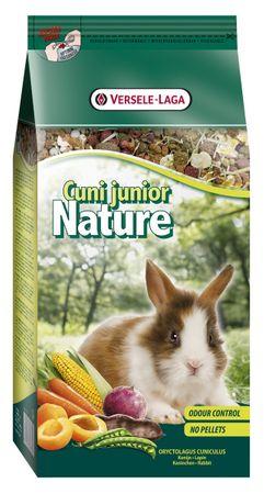 Versele Laga Nature Junior kompletní krmivo pro mladé králíčky 750g
