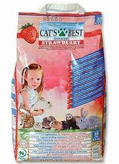 Cat's Best Strawberry podestýlka 10l