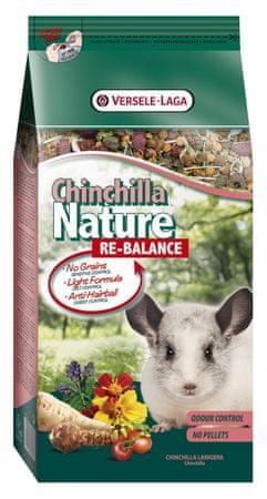 Versele Laga Nature Re-Balance kompletní krmivo pro činčily 700g