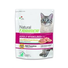 TRAINER Natural Cat Adult Sterilised s drubežím masem 1,5kg