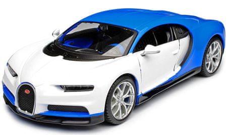 Maisto Bugatti Chiron 1:24 biela 1:24