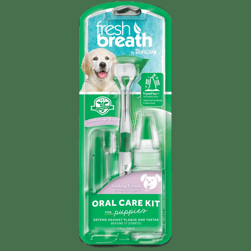 TropiClean Set na čištění zubů Fresh Breath pro štěňata