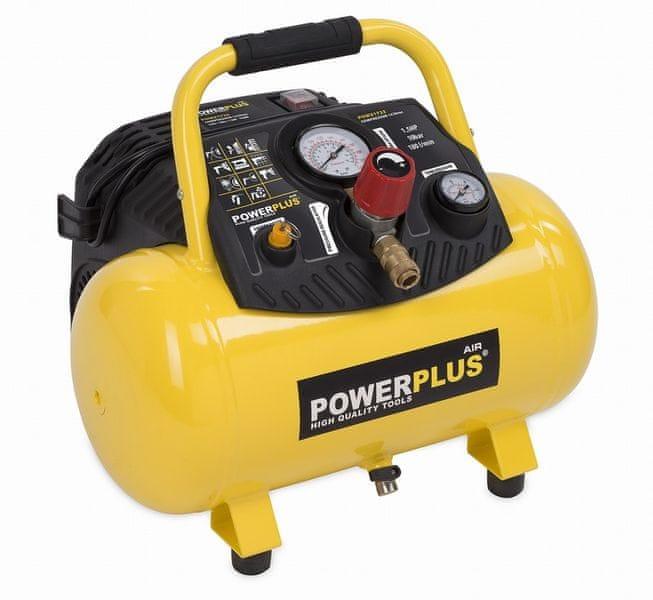 PowerPlus POWX1723 Kompresor 1100 W 12 L