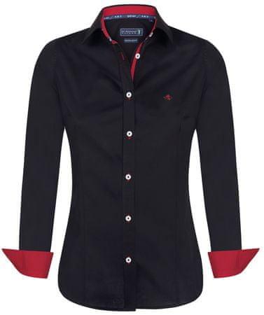 Sir Raymond Tailor ženska srajca Mashie, S, črna