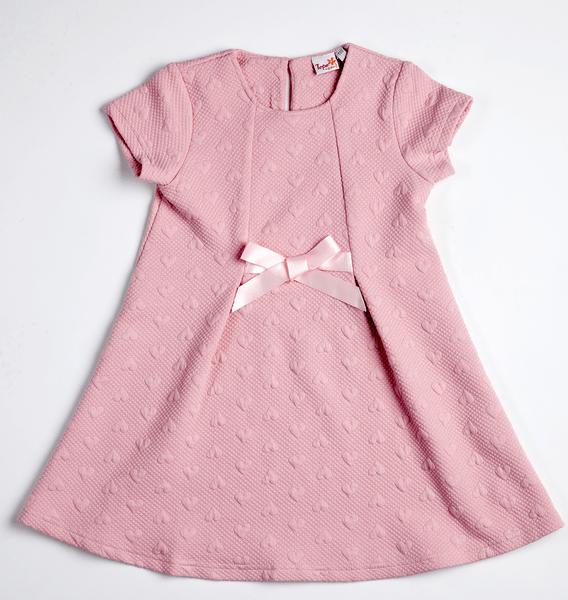 Topo dívčí šaty 98 růžová