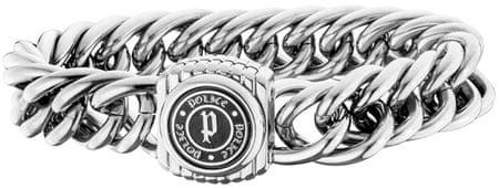 Police Pánský náramek Compact PJ25726BSS/01 (Délka 19 cm)