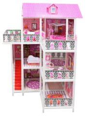 Lamps trinadstropna hiša za lutke