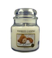 Yankee Candle Svíčka ve skleněné dóze Yankee Candle - Jemná přikrývka 169633, 410 g