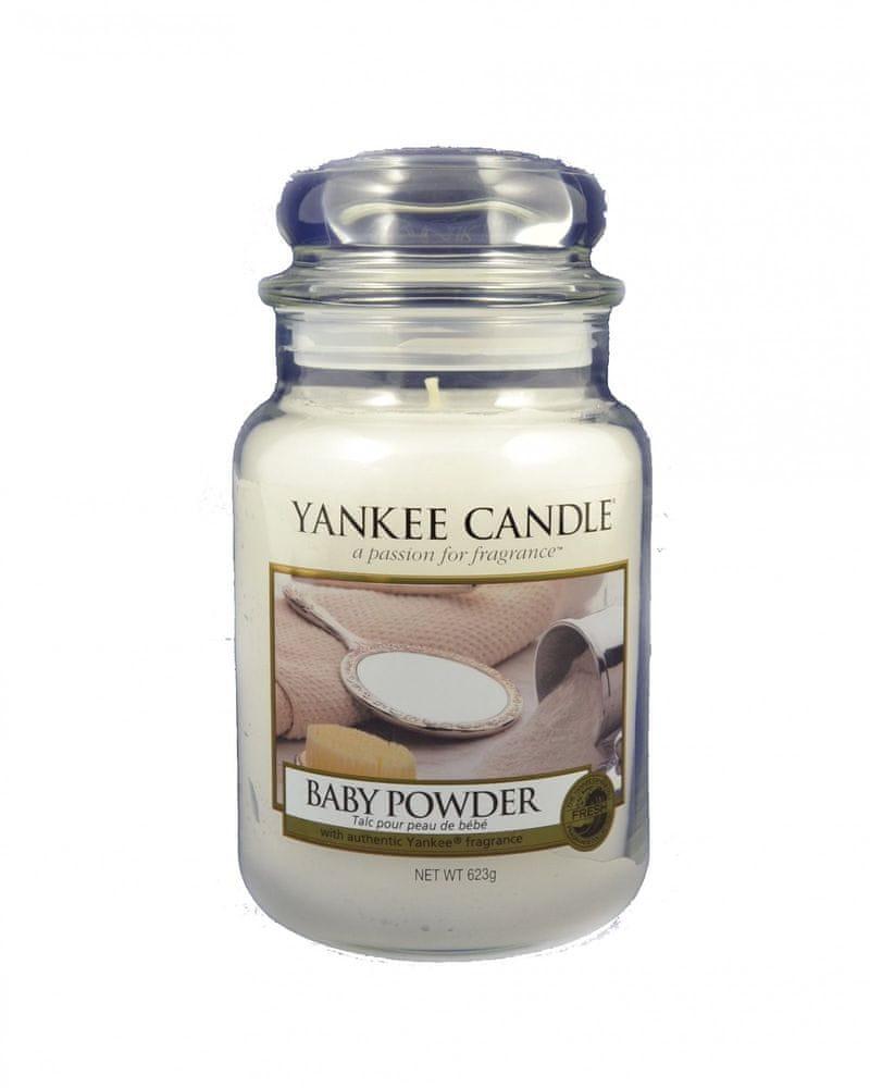 Yankee Candle Baby Powder Classic velký 623 g